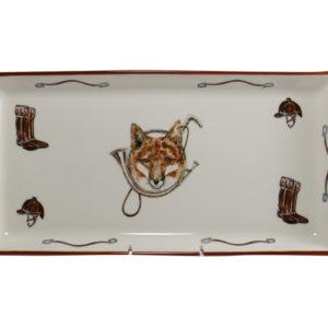 Fox & Horn Tart Tray