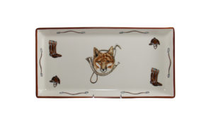 Fox & Horn Tart Tray