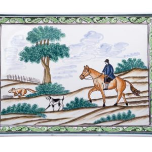Century Hunt Two Handled Tray