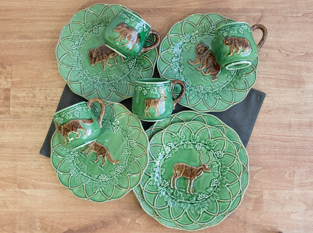Hunting Animal Plates - CE Corey