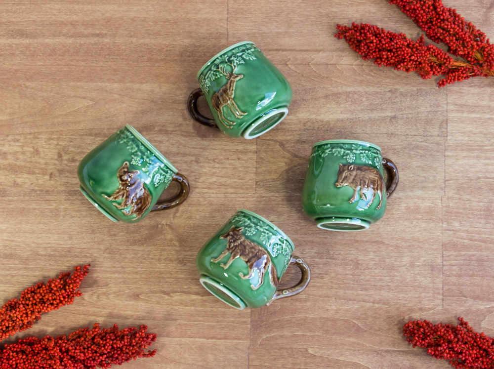 Bordallo Animal Mugs