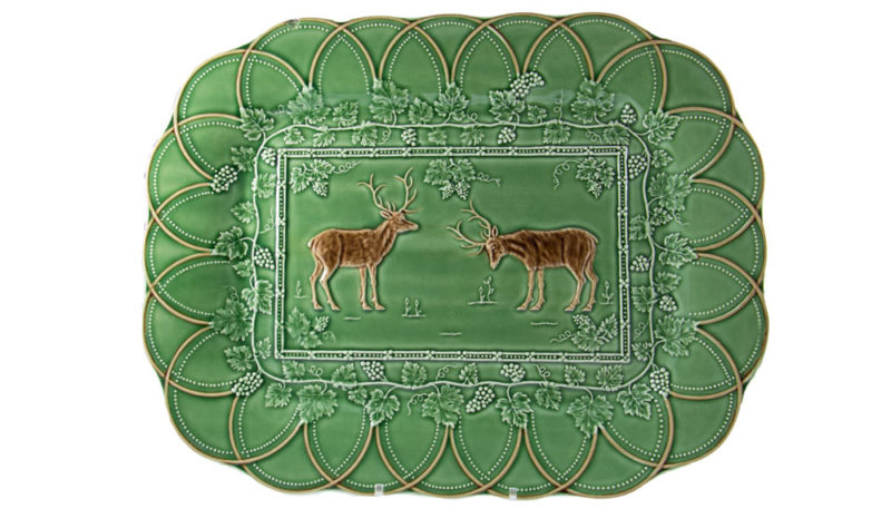 Bordello Animal Deer Platter